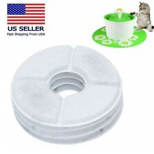 2/4Pcs Pet Water Fountains Filter Replacement Flower Feeder Filters for Cats#Er7