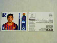 Panini sticker lionel messi # 496 Champions League 2011/2012 rar