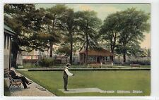 WHITEINCH BOWLING GREEN: Glasgow postcard (C10799)