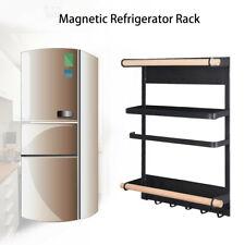 New ListingKitchen Rack Magnetic Refrigerator Storage Rack Heavy Duty Fridge Organizer Us