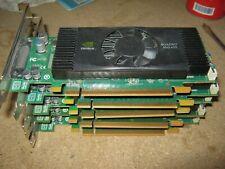 Job lot of 5 x Nvidia Quadro NVS 420 512MB PCI E Video Graphic Card PC Desktop