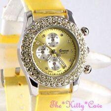 Relojes de pulsera Geneva de goma para mujer