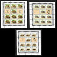 St Vincent,1980 Wildlife complete set of sheets MNH (S364)