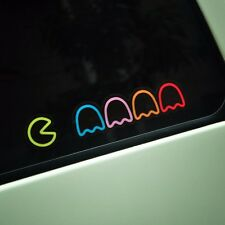 Car Sticker Pacman Vinyl Tuning Auto Motorcycle Decal