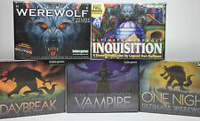 Lot of 5 Ultimate Werewolf Games by Bezier