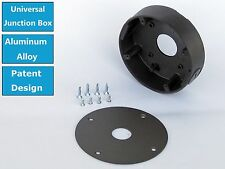 Universal Security Camera Mount Junction Box For Most Bullet & Dome camera Gray