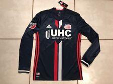 NWT ADIDAS Adizero New England Revolution MLS Long Sleeve Jersey Men's Medium