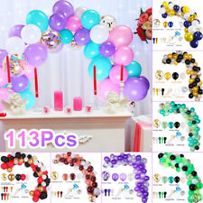 113 × Party Balloon Garland Arch Wedding Birthday Supply Baby Shower Party Decor
