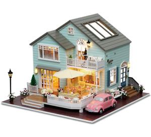 1:12 Dollhouse miniature furniture beach folding table for kids toys HVYJBC