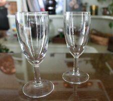 Simple French Stemmed Cordial Glasses - Set of 2
