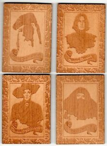 Harry Potter & The Half Blood Prince Update: 4 Card Wood Box Topper Set