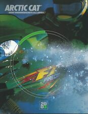 New, Uncirculated * 2003 Arctic Cat Large Snowmobile Sales Brochure * MINT