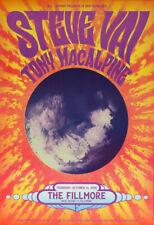 Steve Vai Tony MacAlpine Fillmore Sf 10/13/2016 Poster Matt Loomis F1436