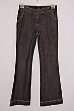 Daisy Fuentes Womens Jeans Flare Leg Tag Size 2 Black