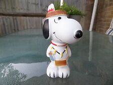 Vintage Snoopy Vinyl Toy Peanuts Squeaky