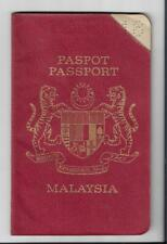 1971 Singapore Christmas Island Thailand Old Expired Passport Hobby Collection