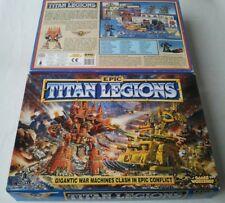 UNCUT Epic 40k Titan Légions no minis warhammer games workshop Adeptus Titanicus