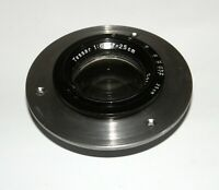 CARL ZEISS JENA TESSAR 6.3/25 cm LARGE FORMAT GERMAN LENS SN2771990 Covers 5x7""