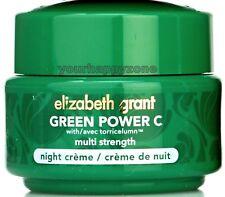 ELIZABETH GRANT Green Power C Multi Strength Night Cream 1.7 oz. NWOB