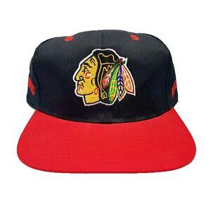 Vtg Rare NHL Chicago Blackhawks Snapback hat