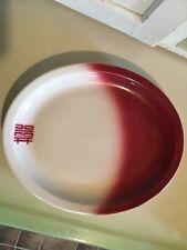 "Vtg Jackson China Asian Restaurant Oval Platter Double Happiness Logo 11""x9"""