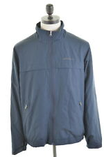 EDDIE BAUER Mens Jacket Size 38 Medium Navy Blue Polyester