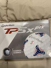TaylorMade TP5x Pix Golf Balls - New In Box (12)