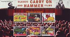 GB 2008 CARRYON HAMMER FILMS PRESENTATION PACK 414 MINT STAMP SET SG2849-54 #