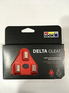 LOOK Delta Cleats 9° Float - RED