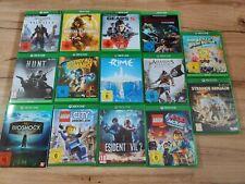 Xbox One Spielesammlung  14 Spiele
