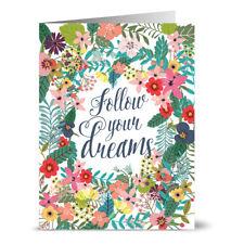 24 Note Cards - Follow Your Dreams - Kraft Envs
