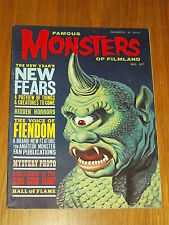 FAMOUS MONSTERS OF FILMLAND #27 VF (8.0) WARREN HORROR MAGAZINE MARCH 1964