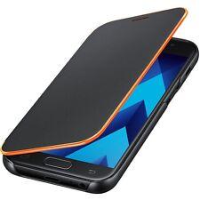 Original Samsung Neon Flip Cover Case EF-FA320 Galaxy A3 2017 Edition Schwarz