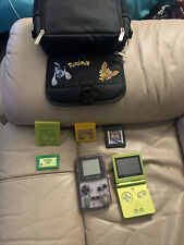 pokemon games gbc and carrier