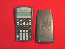 Texas Instruments TI-BA II Plus Calculator S-0606F Pre-Owned Excellent Condition