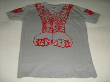 Blac Label Men's T-Shirt Gray & Red Too Fast To Live Heart Blood Sacrifice Hope
