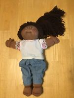 Cabbage Patch Doll African American Girl Pony Tail 25th Anniversary Used