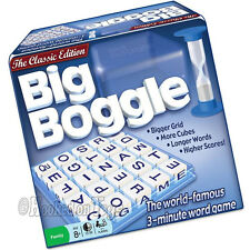 Hasbro 1147 - Big Boggle - The Classic Edition - World Famous 3-Minute Word Game