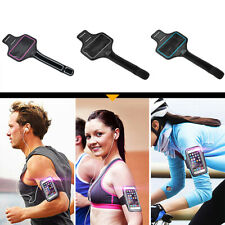 Armband Phone Holder Sport Case Running Gym For 5.5- 6.5inch W/ Reflective Strip