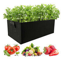 Fabric Raised Garden Bed Flower Planter Elevated Vegetable Box Planting Grow Bag