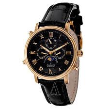 Charmex Vienna II 2496 Men's Black dial leather Analog watch
