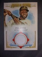2020 Topps Allen and Ginter Base Full Size Relic #FSRB-GP Gregory Polanco
