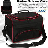 Professional Hair Stylist Salon Barber Hairdressing Scissors Combs Tool Bag