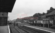 PHOTO  SR OKEHAMPTON RAILWAY STATION  VIEW 2 OF THE ENDS OF THE STATION SHOWING