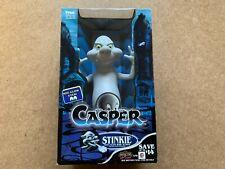 Vintage 1994 Tyco Casper Stinkie Ghost Toy W/ Pizza Scent Burp & Glow Eyes New