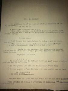 MAI 1968. TRACT. NON À LA CHIENLIT.