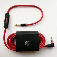 3.5mm OEM Audio Microphone Lead L Cord V2 Beats Dr. Dre Headphones Aux Mic