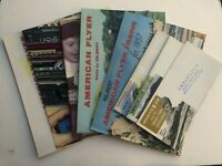 Collection of 8 Gilbert American Flyer Train Catalogs in Great Condition!
