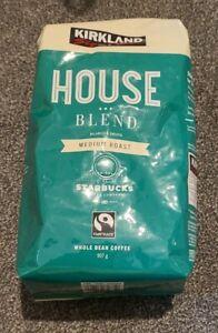 Kirkland Signature Starbucks House Blend Whole Bean Coffee 907g Medium Roast