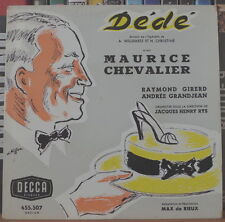 """MAURICE CHEVALIER DEDE 45t 7"""" FRENCH EP"""